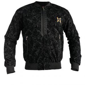 sued embosed bama jacket $125